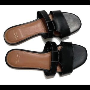 Cole Haan Shoes - Cole Haan Black Leather Sandal.